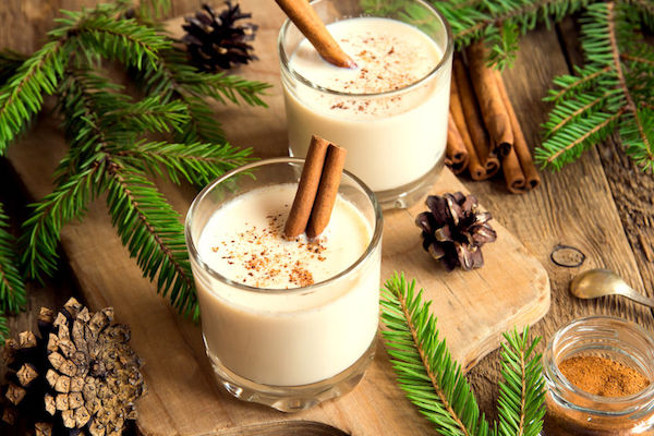Grasshoppers has eggnog for the holidays